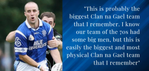 """O'Hagan hoping Clans can """"impose"""" themselves on the game"""