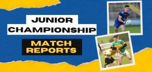 Junior Championship Match Reports